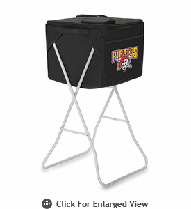 Picnic Time Party Cube - Black Pittsburgh Pirates