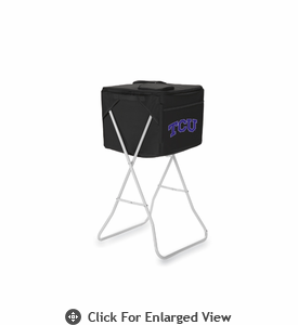 Picnic Time Party Cube - Black TCU Horned Frogs