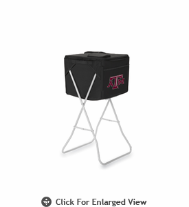 Picnic Time Party Cube - Black Texas A & M Aggies