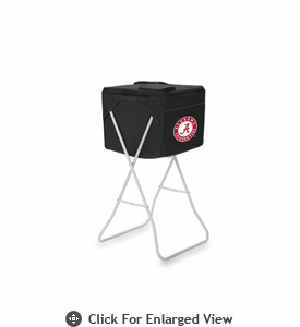 Picnic Time Party Cube - Black University of Alabama Crimson Tide