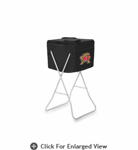 Picnic Time Party Cube - Black University of Maryland Terrapins