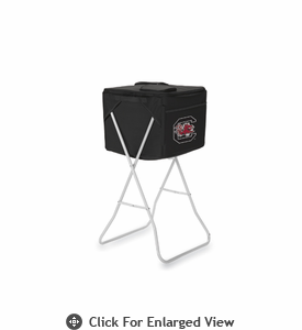 Picnic Time Party Cube - Black University of South Carolina Gamecocks