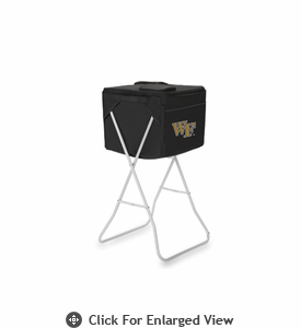 Picnic Time Party Cube - Black Wake Forest Demon Deacons