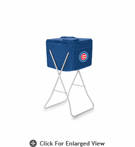 Picnic Time Party Cube - Navy Blue Chicago Cubs
