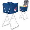Picnic Time Party Cube - Navy Blue Cleveland Indians