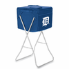 Picnic Time Party Cube - Navy Blue Detroit Tigers