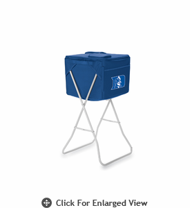 Picnic Time Party Cube - Navy Blue Duke University Blue Devils