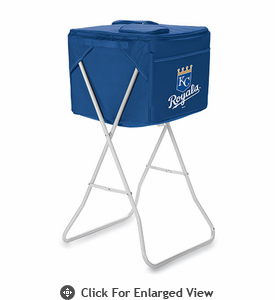 Picnic Time Party Cube - Navy Blue Kansas City Royals