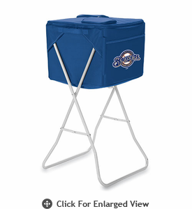 Picnic Time Party Cube - Navy Blue Milwaukee Brewers