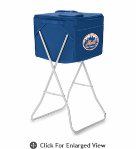 Picnic Time Party Cube - Navy Blue New York Mets