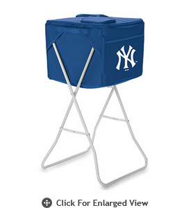 Picnic Time Party Cube - Navy Blue New York Yankees