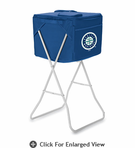 Picnic Time Party Cube - Navy Blue Seattle Mariners