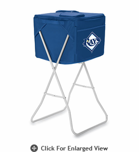 Picnic Time Party Cube - Navy Blue Tampa Bay Rays