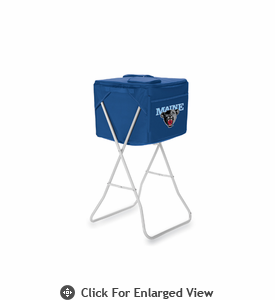 Picnic Time Party Cube - Navy Blue University of Maine Black Bears