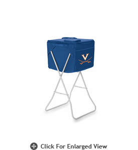 Picnic Time Party Cube - Navy Blue University of Virginia Cavaliers
