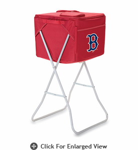 Picnic Time Party Cube - Red Boston Red Sox
