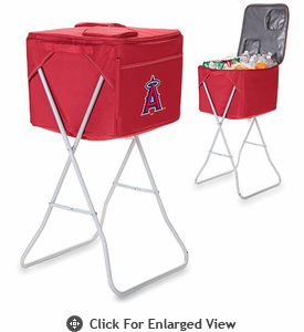 Picnic Time Party Cube - Red Los Angeles Angels