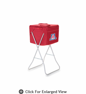 Picnic Time Party Cube - Red University of Arizona Wildcats