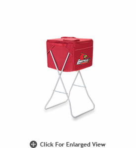 Picnic Time Party Cube - Red University of Louisville Cardinals