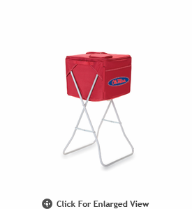 Picnic Time Party Cube - Red University of Mississippi Rebels