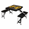 Picnic Time Picnic Table Black Georgia Tech Yellow Jackets