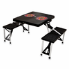 Picnic Time Picnic Table Black LSU Tigers