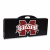 Picnic Time Picnic Table Black Mississippi State Bulldogs