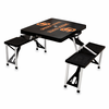 Picnic Time Picnic Table Black Oregon State Beavers