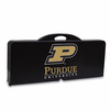 Picnic Time Picnic Table Black Purdue University Boilermakers