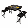 Picnic Time Picnic Table Black Southern Miss Golden Eagles