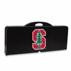 Picnic Time Picnic Table Black Stanford University Cardinal