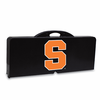Picnic Time Picnic Table Black Syracuse University Orange