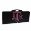 Picnic Time Picnic Table Black Texas A & M Aggies