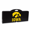 Picnic Time Picnic Table Black University of Iowa Hawkeyes