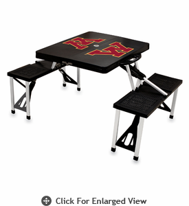 Picnic Time Picnic Table Black University of Minnesota