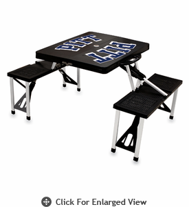 Picnic Time Picnic Table Black University of Pittsburgh Panthers
