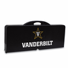 Picnic Time Picnic Table Black Vanderbilt University Commodores