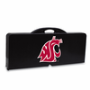 Picnic Time Picnic Table Black Washington State Cougars