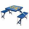 Picnic Time Picnic Table Blue UC Berkeley Golden Bears