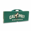 Picnic Time Picnic Table Green Cal Poly Mustangs