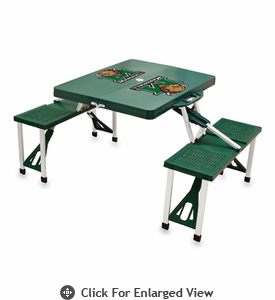 Picnic Time Picnic Table Green Marshall University