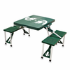 Picnic Time Picnic Table Green Michigan State Spartans