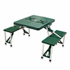 Picnic Time Picnic Table Green University of Hawaii Warriors