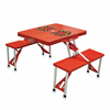 Picnic Time Picnic Table Red University of Maryland Terrapins