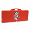 Picnic Time Picnic Table Red University of Wisconsin Badgers
