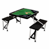 Picnic Time Picnic Table Sport - Black Colorado Rockies