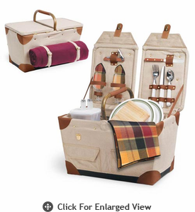 Picnic Time� Pioneer Picnic Basket for 2