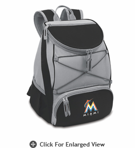Picnic Time PTX - Black Miami Marlins
