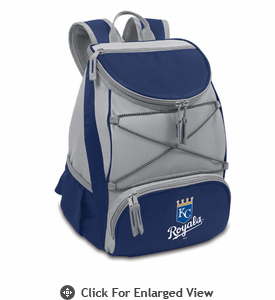 Picnic Time PTX - Navy Blue Kansas City Royals