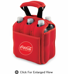 Picnic Time Six Pack  Coca-Cola - Red